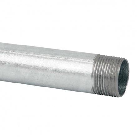 6016E ZN F - ocelová trubka závitová žárově zinkovaná (EN)