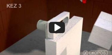Embedded thumbnail for Montāžas instrukcija instalācijas kārbai uzstādīšanai termoizolācijā KEZ-3