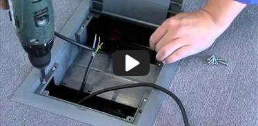 Embedded thumbnail for Montāžas instrukcija grīdas instalācijas kārbām betona un dubultās grīdās KOPOBOX