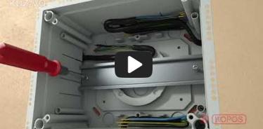 Embedded thumbnail for Uzstādīšanas instrukcija universālai kārbai KUZ-VO ar atveramu vāku