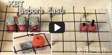 Embedded thumbnail for Montāžas instrukcija instalācijas kārbām ielikšanai lietajā betonā KBT