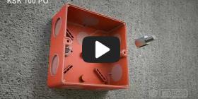 Embedded thumbnail for Montāžas instrukcija kārbai kas saglabā funkcionalitāti ugunsgrēka gadījumā KSK 100 PO