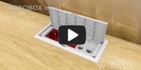 Embedded thumbnail for Montāžas instrukcija, daudzfunkcionālai elektroinstalācijas kārbai KOPOBOX mini L